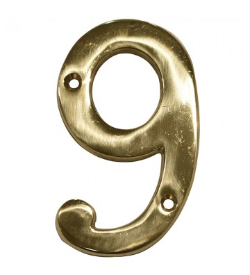 "NUMERO ""9"" DE LATON DEXTER 4"" LB No. 4082"