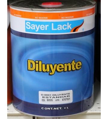 DILUYENTE STD 4LTO No. D-0001.40