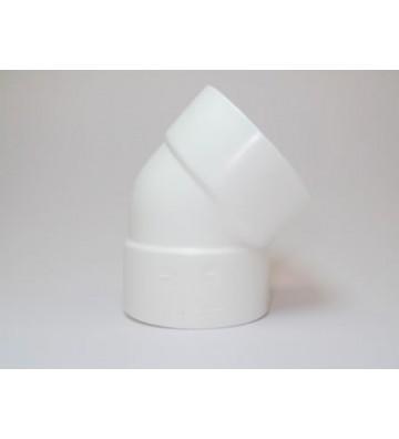 "CODO PVC CALLE 4"" X 45° No. M05893"