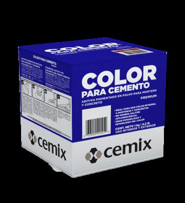 COLOR P/CEMENTO ACUAMARINA 1 KG CEMIX