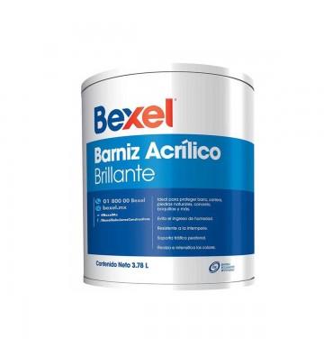 BARNIZ ACRÍLICO BRILLANTE BEXEL 4L