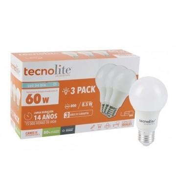 KIT 3 FOCO  LED TECNOLITE 8.5W