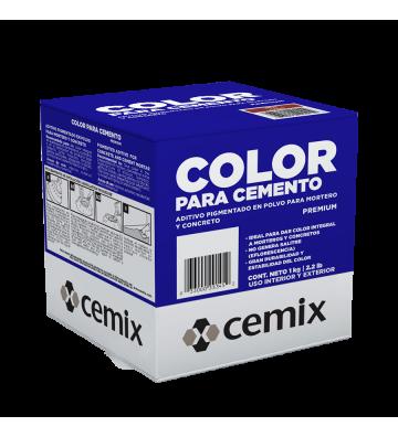 COLOR P/CEMENTO ROJO CARMIN 1 KG CEMIX