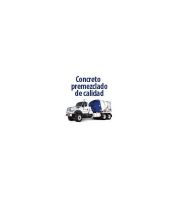 CONCRETO PREMEZCLADO FC=210KG/CM2 210T