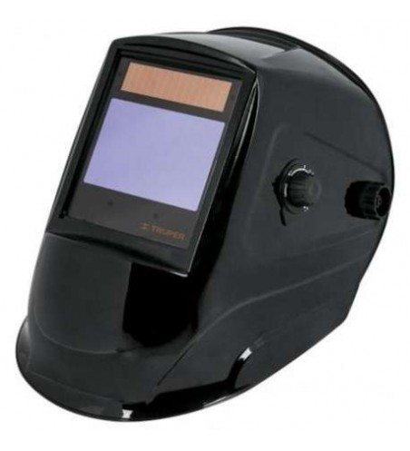 Careta electronica para soldar truper 17460