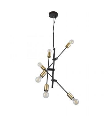 LAMPARA 360W DECORATIVA COLGANTE NEGRO PARA INTERIOR No. 20CTL8190MVN