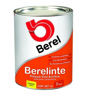 PINTURA BEREL BERELINTE BASE VINÍLICA TINT 4L No.8002