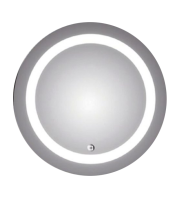 ESPEJO CON LUZ LED REDONDO 58.92 CMS