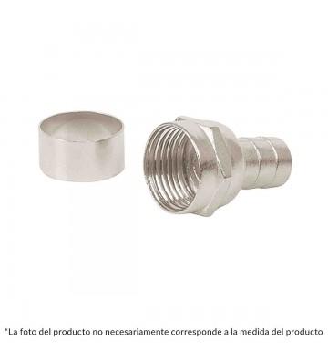 CONECTOR P/CABLE COAXIAL RG59 4P No. 48479