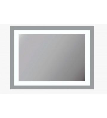 ESPEJO CON LUZ LED 80X60X3CM