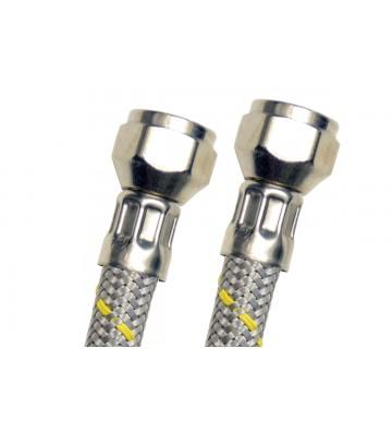 """CONECTOR FLEXIBLE PARA GAS USO DOMÉSTICO COFLEX 3/8"""" X 3/8"""" No.AG-B100"""