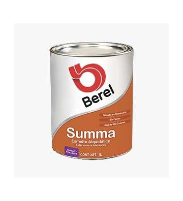 PINTURA ESM BLANCA SATIN SUMMA 1L No. 673