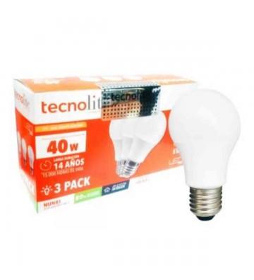 TL 3PACK LED-A19 5W 3000K LUZ CÁLIDA