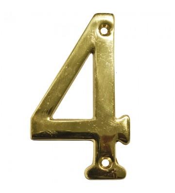 "NUMERO ""4"" DE LATON DEXTER 4"" LB No. 4077"