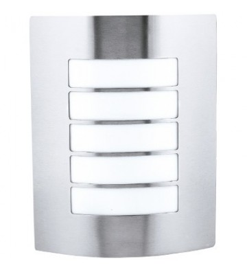 LAMPARA D/PARED P/EXT A/INOX No. H-800/S