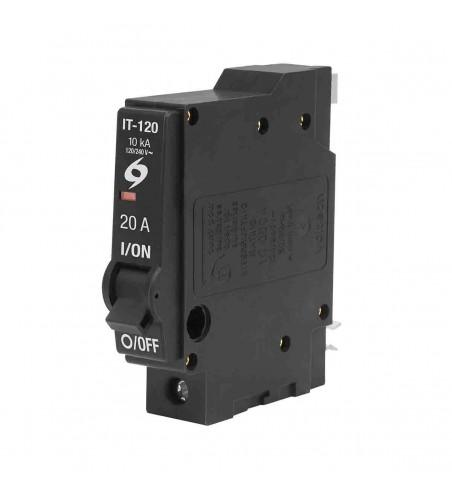 interruptor termomagnetico 1 polo 20 A volteck 46701
