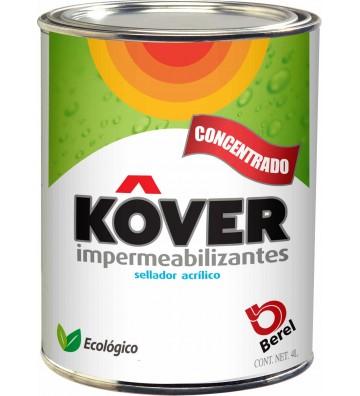 IMPERMEABILIZANTE SELLADOR ACRÍLICO BEREL KOVER 4L No. 2470