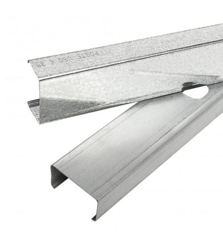 Poste para carton yeso 2-1/2 pulgada por 10 pies panel rey 800463