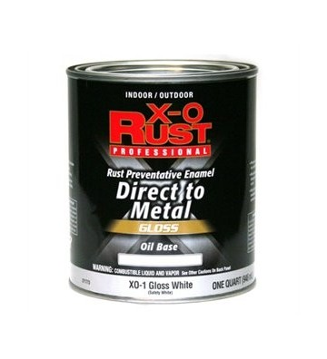 PINTURA PARA METAL BLANCO EXTERIOR Y INTERIOR .946ML