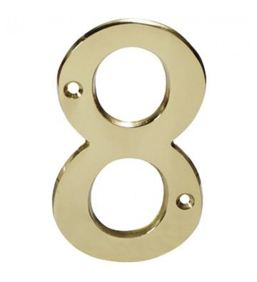 "NUMERO ""8"" DE LATON DEXTER 4"" LB No. 4081"