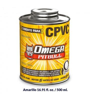 CEMENTO PARA CPVC OMEGA PITBULL 500ML No. CPVC1125
