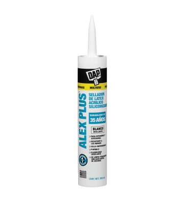 SELLADOR DE LÁTEX ACRÍLICO COLOR BLANCO ALEX PLUS DAP 300ML No. 34001