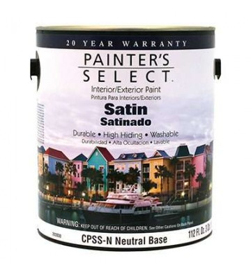 PINTURA PAINTERS SELECT BASE VINILICA NEUTRA SATINADA 3.3L No.CPSSN-GL