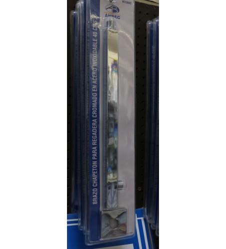 BRAZO P/REG A/INOX 40 CM No. BC1282C