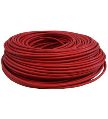 CABLE THHW C-16 ROJO 100M No. 110016X