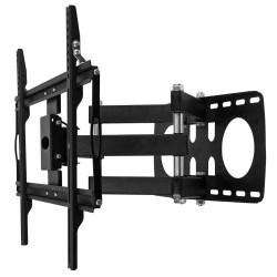 """Para pantallas de 26"""" - 65"""" (66 cm - 165 cm) Compatible con VESA 100, 200, 400, 600. Fabricado en acero Doble movimiento angul"""