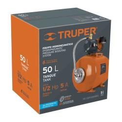 HIDRONEUMATICO 1/2HP 50L TRUPER No. 12254