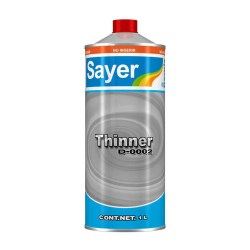 THINNER STD SAYER LACK 1 LTO No. D-0002.30
