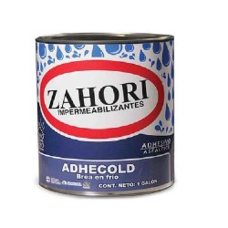 BREA EN FRIO ADHECOLD GALON ZAHORI