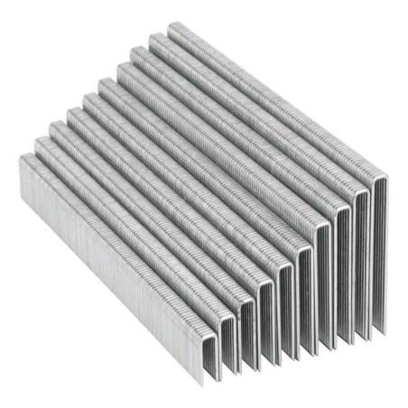 Grapas para engrapadora neumatica eneu-1/4 25milimetros 5000 piezas truper 18274