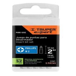 PUNTAS PHILLIPS JUEGO 5P No. 12146 TRUPER