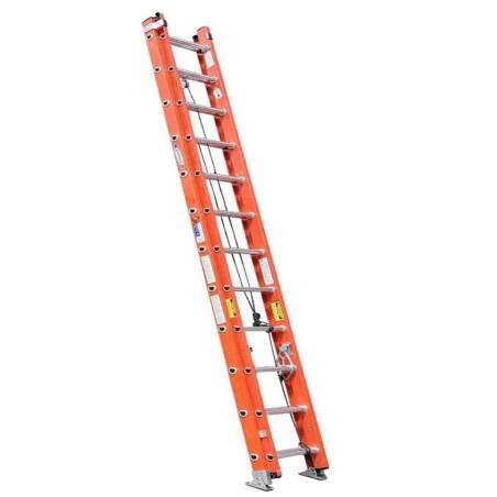 Escalera extension fibra de vidrio 7.32 metros tipo 2 keller d5924-2mx