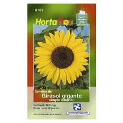 SEMILLA GIRASOL GIGANTE SIMPLE No. H391