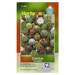 SEMILLA CACTUS VARIADOS No. H122