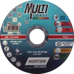 """DISCO MULTICORTE 4-1/2""""X3/64""""X7/8"""" No. 66252842093"""