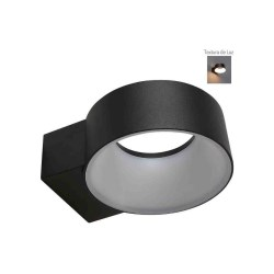 LAMPARA 8W LED PARA EXTERIOR NEGRO No. 8HLED1180MV30N