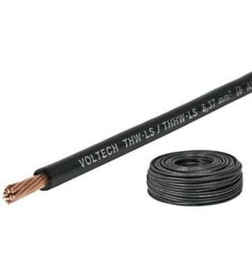 CABLE THHW COLOR NEGRO C-12  100M