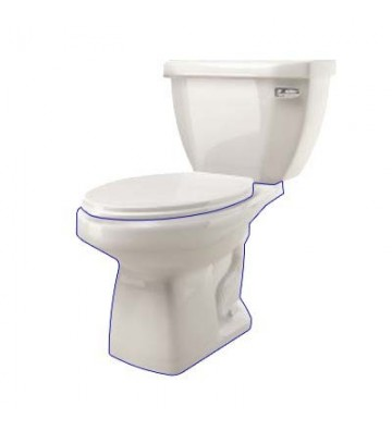 TANQUE PARA WC BLANCO HANDICAPPED