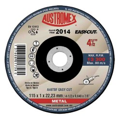 "DISCO CORTE METAL SP 41/2X.040"" No. 2014"