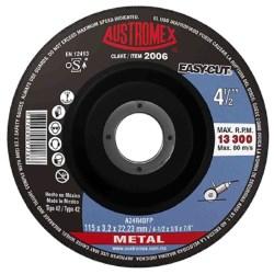 "DISCO CORTE METAL T42 41/4X1/4X7/8"" No. 2006"