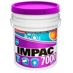 Impermeabilizante impac 7000 fibratado 19 litros impac
