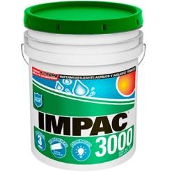 Impermeabilizante impac 3000 fibratado 19 litros impac