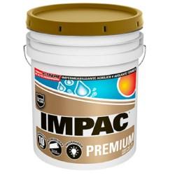Impermeabilazante impac premium fibratado 19 litros impac