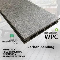 PISO DECK CARBON 14.6 X 210 X 2.2CM  SANDING