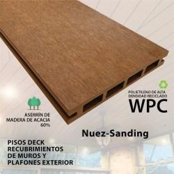 PISO DECK NUEZ 14.6 X 210X2.2 CM  SANDING