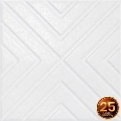 Piso malibu-ad blanco 20.1x20.1 centimetros 1.54 metros cuadrados por caja vitromex